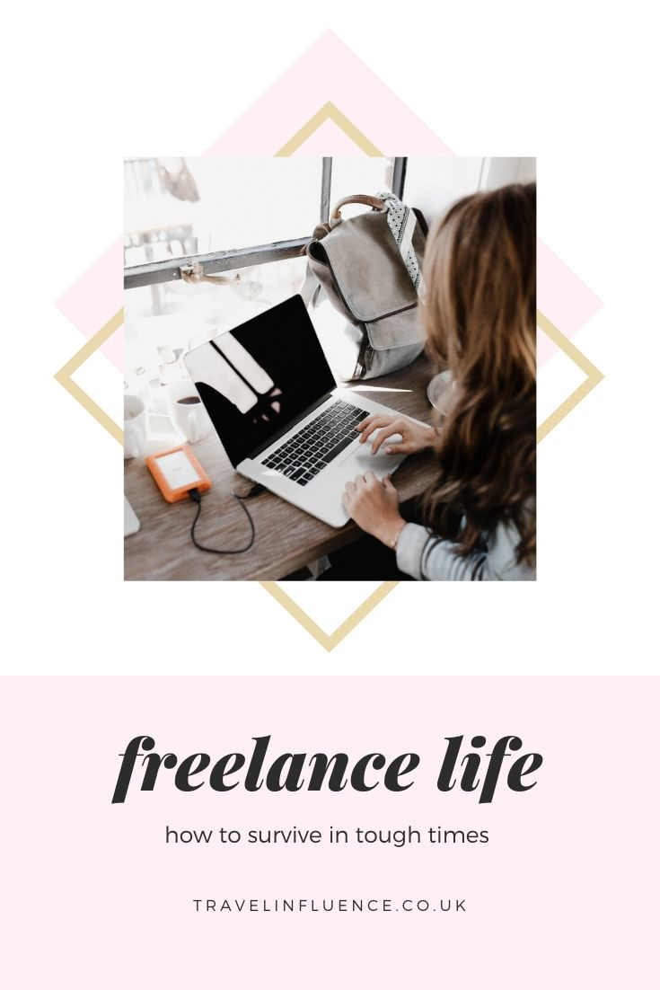 If you are self employed, a freelancer or small business it can be hard to see the way through tough times. Here's how I'm learning to survive lockdown as a freelancer and parent, plus some tips for other small business owners affected by COVID-19 #business #tips #freelance #advice #difficult #thrive #better #biz #blogger #blogging #writer #marketing #PR